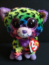 """NWT TY Beanie Boos 6"""" TRIXIE Leopard Plush Wild Cat Justice Exclusive Boo 2014"""