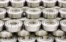 Wholesale Lot of 100 Skateboard Ball Bearings 608Z Long Board Penny Scooter