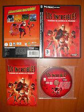 Los Increíbles: Cuando se acerca el peligro [PC / MAC CD-ROM] ¡¡COMPLETO!!