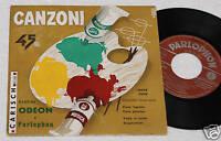 CLAUDIO VILLA-EP-ORIGINAL ITALY 1956 PARLOPHON EX !!!!!
