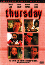 THURSDAY (DVD, 2000, Unrated Director's Cut) - NEW RARE DVD