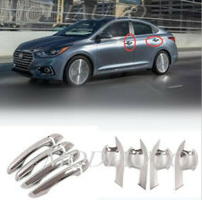 smart hole abs Car door handle bowl cover trim Fit For Hyundai Accent 2018-2020