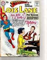 SUPERMAN'S GIRL Friend LOIS LANE # 9 ( DC 1959 ). Pat Boone Cover.