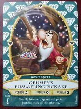 Disney Sorcerers of the Magic Kingdom #47: Grumpy's Pummeling Pickaxe