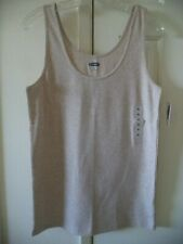 Old Navy Slate Grey Fitted Cotton V-Neck Tank Top Cami XXL 1X 2X 3X 4X Plus Size