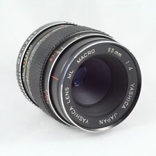 RARE early Yashica ML Macro 55 mm 1:4 Lens Contax RTS Mount 1:2 reproduction