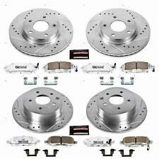 Power Stop Front & Rear Z26 Street Warrior Brake Kit for 13-18 Nissan Sentra