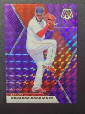 2021 Panini Purple Mosaic #186 Eduardo Rodriguez /49 Red Sox