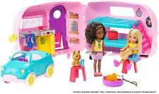 Barbie Club Chelsea Camper With Car Playset