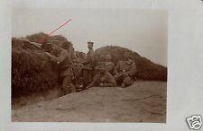 19064/ Originalfoto 9x13cm, Scharfschütze, Trench sniper, Inf. Regt. 81