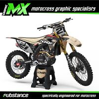 MX Graphics: M2R Racing KX110F Pit Bike Pitbike Custom Graphics Kit