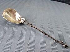 GORHAM NARRAGANSETT Style SHELL Spoon STERLING SILVER 925 AESTHETIC WASH 1884 NM