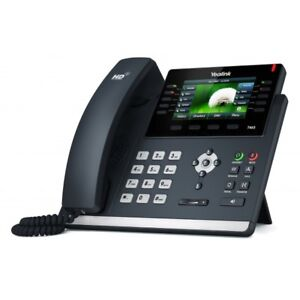 Yealink SIP-T46S 16 Lines HD VoIP IP PoE Color Phone 2 Gigabit