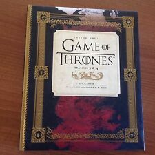 GAME OF THRONES SEASONS 3 & 4 HARDCOVER Book. Inside HBOs Tv Series U.K. Book