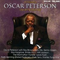 Oscar Peterson A tribute to-Live at the Town Hall (1997, & Ray Brown, Her.. [CD]