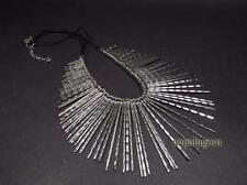 N1965 Tibet Ethnic FASHION Gypsy Tribal Bohemian Fringe Collar NECKLACE Jewelry
