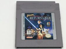 Super Star Wars: Return of the Jedi (Nintendo Game Boy, 1995) game only