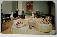 Allentown Pa Smorgasbord Dining Room AMERICUS HOTEL 1960s Postcard I1