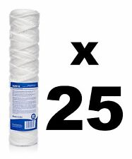 "25 x 10 micron sediment filter string-wound 10"",water filter,Reverse osmosis,RO."