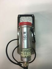 Ludlum Measurements Inc Survey Meter With Model 44 7 Unit As Well Model3