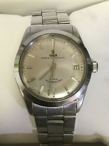 1967 Tudor Prince Oysterdate 7966 Stainless Steel 34mm Silver Dial Men's Watch