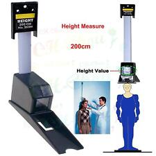 200cm Easy Read Wall Mounted Height Meter Stadiometers Baby Growth Tape Ruler