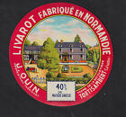 Ancienne grande étiquette Fromage France BN10551 Coulommiers Femme