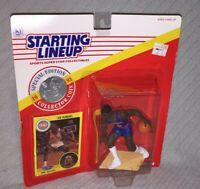 Starting Lineup Bad Boy Joe Dumars 1991 NBA Detroit Pistons Figure w/Card & Coin