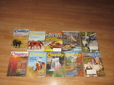 Lot of 10 Country;Country LIfe; Mother Earth & TN Mag Back Issue Magazines