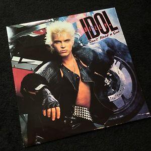 "Billy Idol - Don't Need A Gun - Melt Down Mix - Original 12"" Vinyl Single"