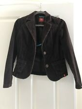 Esprit Womens Jacket Size Small Color Brown