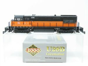 HO Scale Proto 2000 31072 MILW Milwaukee Road U28B Diesel Loco #138 BAD DRIVE