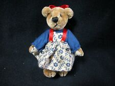 "World of Miniature Bears 2.75"" Plush Bear Belle #5031BW CLOSING"