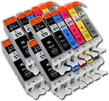 24 Cartridges For Canon Pixma PGI-570/ CLI-571 MG5750 MG5751 MG5752 MG5753