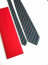 TINO COSMA Cravatta Tie NUOVA NEW 100% SETA SILK ORIGINALE IDEA REGALO