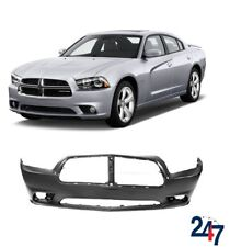 NEW DODGE CHARGER 2011-2014 FRONT BUMPER WITH FOG LIGHT HOLES