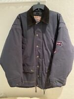 Vintage Rip Curl Mens Jacket Size Large Navy Blue RN No: 61744