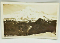Postcard Real Photo Mt. Rainier, Wash. from Ellis 396 July 11,1946 Black & White