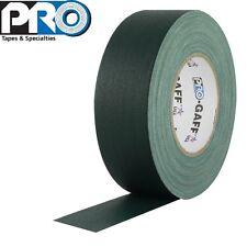 Pro-Gaff® 4 Inch x 55 Yards Gaffer's Tape - Green - Premium Matte