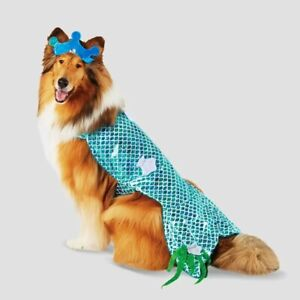 Hyde & EEK Boutique Pet Halloween Costume - Mermaid Dog Costume - XL #5563