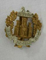 Military Cap Badge for The Essex Regiment - bimetal (MS 41)