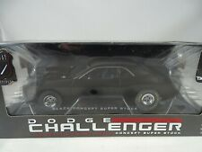 1:18 Highway 61 #50722 - DODGE CHALLENGER Black CONCEPT SUPER STOCK - RARITÄT