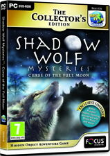 Shadow Wolf Mysteries: Curse of the Full Moon, Collector's Ed - PC - New/Sealed