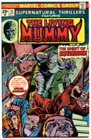 Supernatural Thrillers 15 VFNM 9.0 Marvel 1975 The Living Mummy