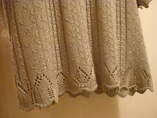 Berkertex Top 14-16 soft sage wonderful knitting pattern strait 93% acrylic