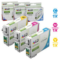 LD Reman Ink Cartridge for Epson T069 69 CMY Set of 3: T069220 T069320 T069420