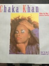 "Chaka Khan(12""Vinyl)This Is My Night-Warner Bros-W 9097-UK-VG/VG"