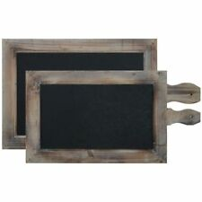 Rustic Chalkboard Tray and Sign Set of 2, 18482