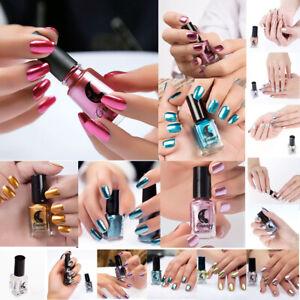6ml Fashion Women Mirror Effect Chrome  Style Nail Art Varnish Polish