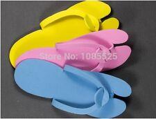 5 Pair Disposable Slipper/EVA Foam Salon Spa Slipper/ Pedicure thong Slipper